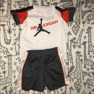 Jordan shorts set